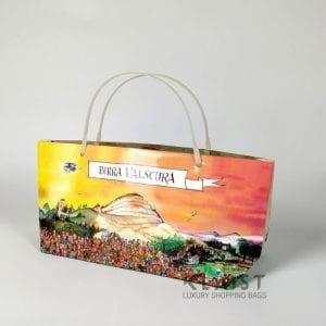shopper carta personalizzate plastificate
