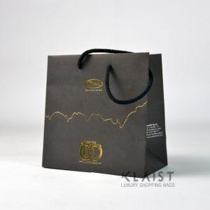 shopper carta personallita con corda in cotone
