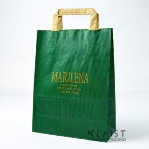 sacchetti personalizzati con maniglia in carta piatta