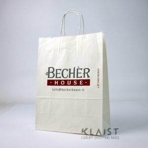 sacchetti personalizzati con maniglie in carta ritorta
