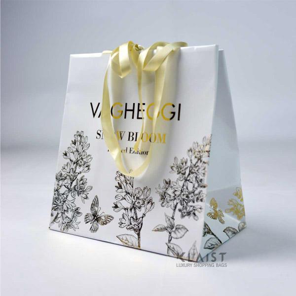 shopper di carta personalizzate gioielleria
