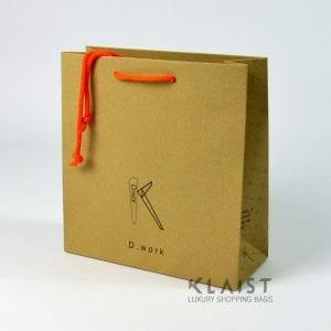 shopper personalizzate carta avana maniglie cotone colorate